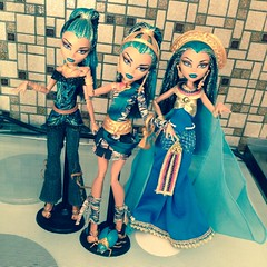 My Nefera Collection ;) (MyMonsterHighWorld) Tags: 3 de doll princess signature line nile egyptian mattel basic nefera