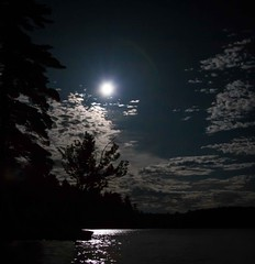 Silent Lake Camping Trip - Full Moon Bloom (Jay:Dee) Tags: park trip camping moon lake silent luna full friday 13th provincial 2014 topw