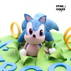Tarta Sonic (StarCakesMadrid) Tags: sonicthehedgehog sega sonic caketoppers toppers tarta cake tartapersonalizada customcake tartadecorada regalooriginal