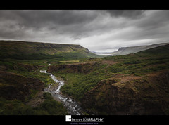 Iceland Glymur trecking (Yiannis Chatzitheodorou) Tags: glymur iceland  river sky