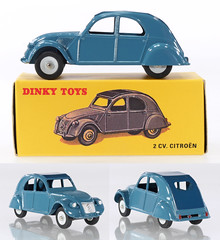 DIF-A-24T-2CV (adrianz toyz) Tags: diecast toy model car dinky toys france french atlas reissue 24t citroen 2cv
