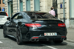 Mercedes S63 AMG Coupe C217 Brabus 850 (aguswiss1) Tags: mercedess63amgcoupec217brabus850 mercedes amg s63amg s63 supercar racer cruiser sportscar fastcar blackcar black