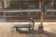 IMG_0393_395  HDR (vicjuan) Tags: 20161016 taiwan   taichung fongyuan  railway geotagged geo:lat=24254145 geo:lon=1207233  fongyuanstation hdr tonemapping