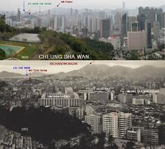 1971-2010 Cheung Sha Wan 1971-2010 (richardwonghkbook4) Tags: hongkong cheungshawan estate heritage historicalbuilding collectivememories thenandnow