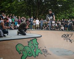 Lennard Jannssen - Kickflip (BLKYRD) Tags: canon eos 1d tamron koloss montur osnabrck osnabrueck skate skateboarding contest lstreet liebigstrase sports