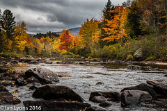 Fall Colours - Stark, New Hampshire (IanLyons) Tags: usa tranquilscene stark concepts river northamerica water newhampshire colourful landscape fall scenic fallcolours