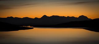 Dawn light over Torridon