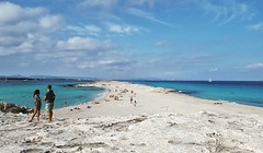 Bye bye #beach #Formentera #spiaggia #Spain #seaside #picoftheday #october #beachlife #bikini #playa (! . Angela Lobefaro . !) Tags: instagramapp square squareformat iphoneography uploaded:by=instagram juno girl seaside boy hat hut beach bikini bye