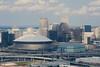 NOLA-Skyline (Ray Devlin) Tags: new orleans aerial skyline skyscraper superdome pelicans arena