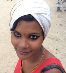 portrait_7698 (Manohar_Auroville) Tags: pondicherry puducherry pondy beach promenade sea seaside afternoon beauty indian girl pretty manohar luigi fedele