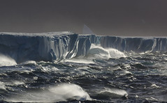 Greenland Ice-sheet Adrift (dr brewbottle) Tags: greenland baffinisland icesheet iceberg davisstrait canada seascape