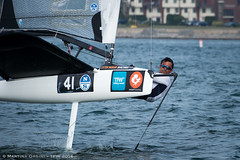 TFW 2016 - Newport sailing action