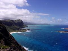 View from Makapu'u Point (jimmywayne) Tags: hawaii oahu honolulucounty makapuu lighthouse makapuuhead windward historic waimanalobay