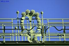 DSC_0097n wb (bwagnerfoto) Tags: palmenhaus wien vienna bcs detail secession art nouveau jugendstil blue green abstract urban outdoor
