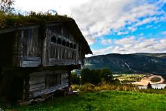 Skore Bygland Setesdal 170916 (4) (Geir Daasvatn) Tags: oncewashome skore bygland oldfarm setesdal loft stabbur