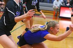IMG_6757 (SJH Foto) Tags: girls volleyball high school garden spot york suburban teens teenagers dive collision closeup action shot favourite libero