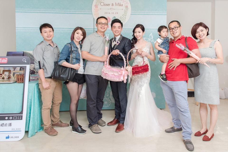 台南婚攝 婚禮紀錄 情定婚宴城堡 C & M 171
