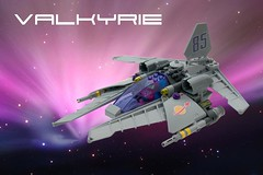 Valkyrie VV (ted @ndes) Tags: valkarie vicviper vv novvember space classic starfighter