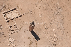 Umm er-Resas North/ Sarbut (APAAME) Tags: 2016 church megaj17544 megaj3120 aerialarchaeology aerialphotography middleeast airphoto archaeology ancienthistory