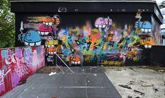 Meushay      Nebay (HBA_JIJO) Tags: streetart urban graffiti vitry vitrysurseine meushay nebay art france hbajijo wall mur painting letters aerosol peinture lettrage lettres lettring writer paris94 spray charactere meushon
