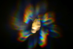 [3/365] (experimentalL) Tags: lavalamp photo 365 day project light study exposure dark colors nikon d5100 rainbow retro glasses filter