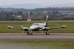 N58JA. (aitch tee) Tags: cardiffairport aircraft generalaviation cessna n58ja cwlegff maesawyrcaerdydd walesuk