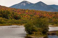 Percy Peaks, Coos County (blackseal35) Tags: 2016 24105l canon canonti1 cooscounty errol fall nh newhampshire northwoods stark whitemountains c color colorful colors leafpeeping leaves mountains river roadtrip stream view water woods