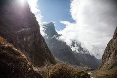 Volviendo de ABC (Sitoo) Tags: annapurna annapurnabasecamp backfromabc campobaseannapurna clouds cloudy himalaya mountains nepal rock rocky trek trekking valley