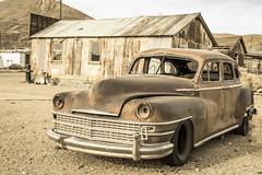 (algaimaging) Tags: car old darwin ghosttown keeler mines swansea rust