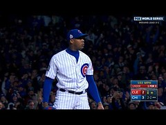 10/30/16: Chapman's eight-out save lifts Cubs to win (Download Youtube Videos Online) Tags: 103016 chapmans eightout save lifts cubs win