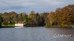The Boathouse (Clearway Photography) Tags: landscape virginiawater water lake surrey autumn trees