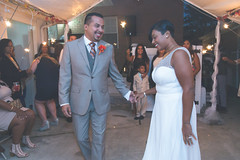 Mike and Melissa (Photos By RM) Tags: wedding bride groom love sparklers night people matte
