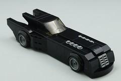 Animated Batmobile (Hobbestimus) Tags: lego batman batmobile animated brucetimm series toys cartoon moc