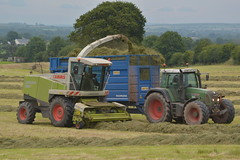 Claas Jaguar 890 SPFH filling a Smyth Trailers FieldMaster Trailer drawn by a Fendt 820 Vario Tractor (Shane Casey CK25) Tags: claas jaguar 890 spfh filling smyth trailer fieldmaster drawn fendt 820 vario tractor agco green castlelyons silage silage16 silage2016 grass grass16 grass2016 winter feed fodder county cork ireland irish farm farmer farming agri agriculture contractor field ground soil earth cows cattle work working horse power horsepower hp pull pulling cut cutting crop lifting machine machinery nikon d7100 traktori tracteur trekker traktor trator cignik