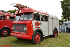 Bedford 'West Susex Fire Brigade' (Steyning) reg 4589 PX (erfmike51) Tags: rudgewicksteamrally2016 bedford rigid fireappliance lorry westsussexfirebrigade