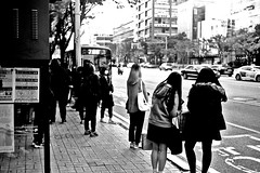 Snap... (HARU1231) Tags: snapphoto yashica35 film kodak korea street bw