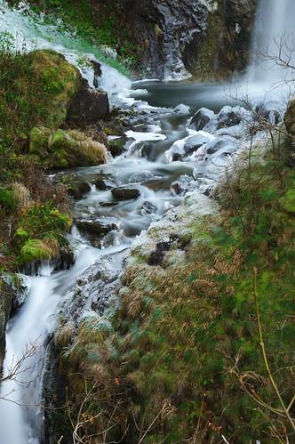 Край водопадите на река Горица