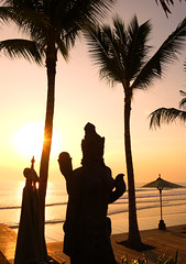 Legian Sunset - Explored (Larterman) Tags: sunset sea southeastasia south east asia asian bali balinese indonesia indonesian travel travelphotography travelphotos silhouette explore