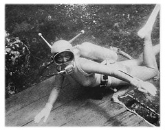Moll ambasaderMAGMA (mixnuts club) Tags: wetsuit rubbersuits vintage frogwoman 1960s