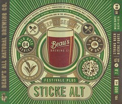 Festivale Plus Sticke Altbier - Beau's All Natural Brewing Company (JoeSeliske) Tags: ontario brewing neck bottle long all natural alt ottawa hill 7 company 600 plus ml altbier sticke festivale beaus vankleek