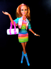 Rainbow (alexbabs1) Tags: show life summer house toys dolls web dream barbie line collection reality series mattel midge dreamhouse fashionistas 2013 raquelle
