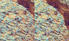 0303MR1261024000E1_DXXX_s_a_G+4xd-c1 (hortonheardawho) Tags: mars lake color rock point bay 3d gale difference curiosity enhanced false yellowknife 0303