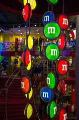 M&Ms (FloRagnarok) Tags: street london colors night lights store pentax londres mm k5 2013