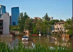 Calgary Flood 2013 (cosmic_kid99) Tags: calgary flood 2013 wsj2416hdr