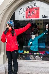 CLOTHING SHOP IN LUZERN (GabSu Lee) Tags: travel switzerland honeymoon swiss luzern 스위스 신혼여행 clothingshop