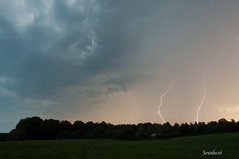Orage (1) - Thunderstorm (1) (Sosodu16 (200000+ views)) Tags: cloud rain weather nikon pluie thunderstorm lightning nuage temps orage clair d90