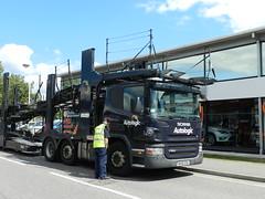 WX56ESU Autologic Scania P420 Car Transporter (graham19492000) Tags: portsmouth cartransporter eddiestobart autologic scaniap420 wx56esu