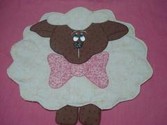 Jogo americano ovelha. Peça modelo. (tatiane_zoo) Tags: