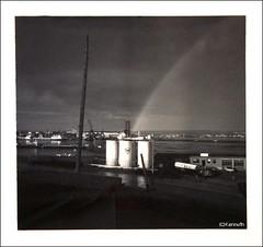 rainbow in black and white, 1969 (Ultrachool) Tags: rainbows saintjohn