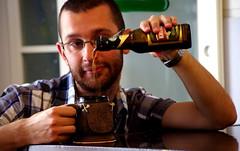 Happy Birthday to me! (Fab!!) Tags: birthday selfportrait home beer pentax celebration mug compleanno birra boccale prasalassa